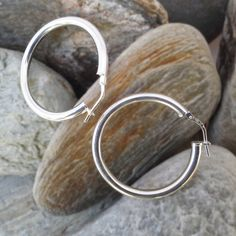 E21-WP Sterling Silver Jewelry, Hoop Earrings, Gift Ideas, Bracelets, Christmas, Gifts, Bangles, Natal, Presents