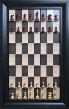 Have you ever played chess while standing by the wall? You can do this with Straight Up Chess.