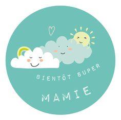 Annonce grossesse Bientôt Super Mamie