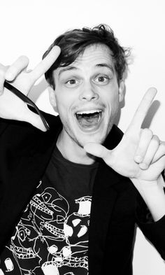 Matthew Gray Gubler!!! Love him so much!!!