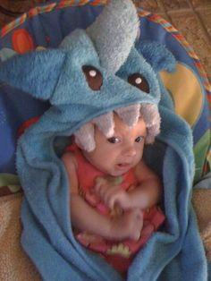 #baby, #shark week, #sharks