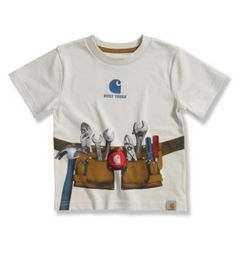 Carhartt - Product - Infant Toddler Boys' Tool Belt T-Shirt