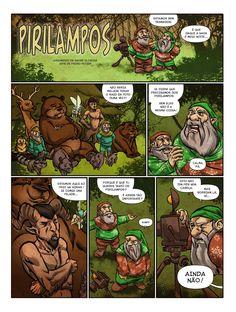 """""""Pirilampos"""" (with Pedro Potier) page #1"""