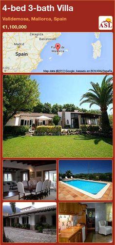 4-bed 3-bath Villa in Valldemosa, Mallorca, Spain ►€1,100,000 #PropertyForSaleInSpain
