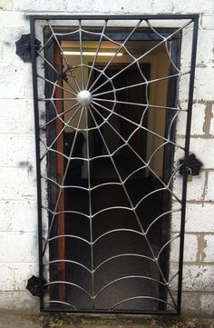 You can get a spider web gate custom made by & of Metal& in the UK. You can get a spider web gate custom made by & of Metal& in the UK. The post Cool! You can get a spider web gate custom made by & of Metal& in the UK. Shielded Metal Arc Welding, Metal Welding, Diy Welding, Welding Tools, Welding Ideas, Diy Tools, Cool Welding Projects, Welding Design, Welding Process
