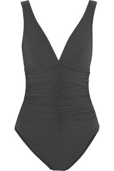 Karla Colletto Underwired ruched swimsuit | NET-A-PORTER