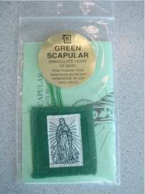 The Green Scapular for Conversion and Healing