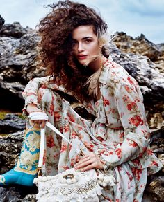 Vogue Japan August 2016 Chiara Scelsi by Victor Demarchelier