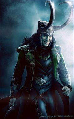 """Loki"" by amatasera Marvel E Dc, Marvel Fan Art, Loki Thor, Tom Hiddleston Loki, Loki Laufeyson, Marvel Heroes, Marvel Characters, Marvel Movies, Marvel Avengers"