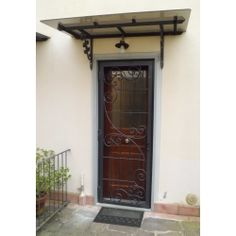 Wrought Iron Gate Door. Customize Realizations. 564 Wrought Iron, Tall Cabinet Storage, Gate, Home Decor, Decoration Home, Portal, Room Decor, Home Interior Design, Home Decoration