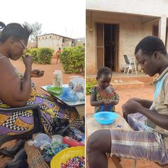 Mama Africa is always hard at work creating beautiful jewelry using local beads, good thing she's got her 4 year old chief helper close to lend a helping hand. All of Mama A's creations as well as official kailend merchandise and many more cool stuff will be available on our online store very soon! #watchthisspace #staytuned #SocEnt #ngo #volunteer #globalgoals #togo #youth #nextgen #photooftheday #orphanage #volunteerabroad #gooverseas #volunteerworld #globalcitizen #kailend16 #westafrica