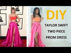 DIY REQUEST 2 | TAYLOR SWIFT TWO PIECE PROM DRESS.GOWN