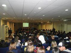 Auditório do campus da FIAM Morumbi http://cineb.spbancarios.com.br/?p=3672