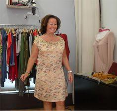 Sra. Bodil Rapaza Ela Diz, dress by Ambrosia Pitigüil
