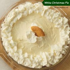 This luscious, easy to make holiday pie is simply incredible. Spicy gingersnaps combine with sweet cream for a delicious dessert you will definitely want to save room for! Holiday Pies, Christmas Desserts, Holiday Recipes, Pies For Christmas, Christmas Drinks, Christmas Villages, Christmas Recipes, Easy Desserts, Delicious Desserts