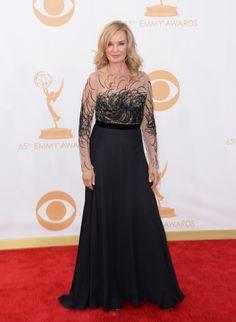 2013 Emmys Red Carpet - Jessica Lange in Escada