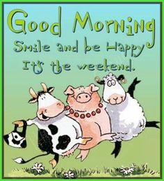 Good morning my friend Happy Saturday! Happy Weekend Images, Happy Weekend Quotes, Its Friday Quotes, Happy Quotes, Tuesday Quotes, Funny Quotes, Tuesday Humor, Friday Memes, Smile Quotes