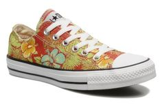 CONVERSE Shoes - Chuck Taylor All Star Hawaiian Print Ox W @ Sarenza.co.uk