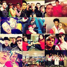 Glee cast = best friends