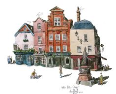 Painting of Castle Hill. Windsor, Berkshire UK | Credit @liams_art