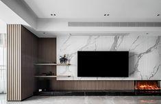 Living Room Decor Fireplace, Decor Home Living Room, Home Fireplace, New Living Room, Living Room Designs, Feature Wall Living Room, Living Room Tv Unit, Tv Unit Interior Design, Tv Wall Design