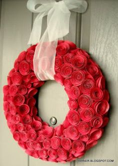 DIY Valentine's Day Wreaths | Learnist