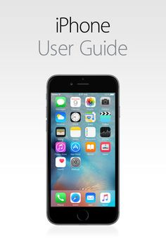 iPhone User Guide for iOS 9 - Apple Inc. | Computers |1035373510: iPhone User Guide for iOS 9 - Apple Inc. | Computers… #Computers