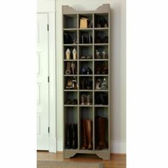 In the entryway for shoe storage Sarah Storage Tower - Shoe and Boot | Ballard Designs
