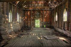 dougwildman-deactivated20110509:  Extinguished—Abandoned Catholic Church near Danbury, Saskatchewan, Canada