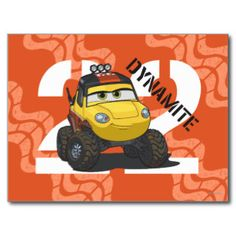 Dynamite Character Art Postcard | Disney Planes movie tshirts and gifts