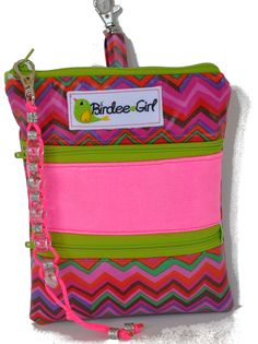 Birdee Girl Golf Pouch with Ball Stroke Counter  www.birdeegirl.com