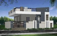 Two story building elevation design ideas not showing mac room related image home elevations in house . two story building elevation Single Floor House Design, Small House Design, Cool House Designs, Modern House Design, Home Design, Floor Design, Design Design, Design Ideas, Bungalow Haus Design