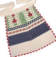 Polish Pottery Half Apron.....a must have for polish pottery collectors!