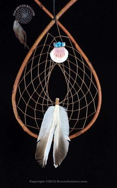chippewa turtle hills dream catcher legend | Red Willow Tee Pee Dream Catcher With Shell And Turquoise Bundle