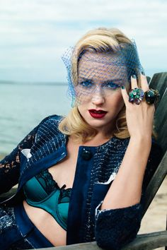 Harper's Bazaar Australia December/January 11.12 : Naomi Watts by Victor Demarchelier.