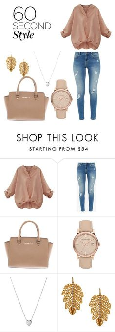 """""""professional but cozzy"""" by vero-nica001 ❤ liked on Polyvore featuring Ted Baker, Michael Kors, Burberry, Links of London and Marika"""