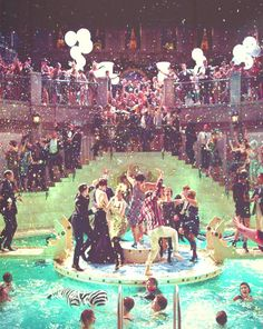 A Little Party Never Killed Nobody -Great Gatsby