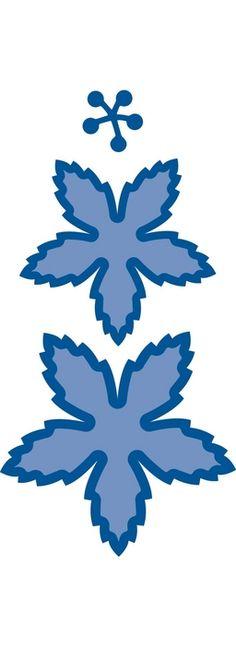 Lr0121 Creatable Poinsettia gekarteld