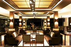 Spend your evening in the Lobby Lounge, Grand Luley Resort and feel the luxury and hospitality.