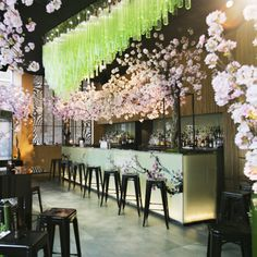 A Pop-up Restaurant Filled With Cherry Blossom And The Finest Sushi In Town? We're Sold!