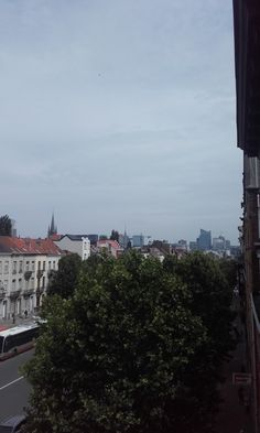 Skyline in Brussels North. June 2018.
