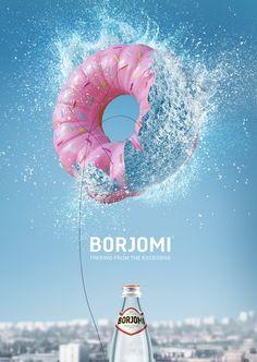 Borjomi 2014-2015 Print Campaign on Advertising Served