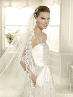 vestido de novia Mejias de La Sposa para Valdés Pastor