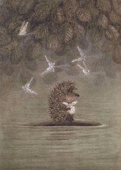 """Франческа Ярбусова «Ёжик в тумане»   """"Картинки и разговоры"""""""