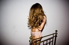 Oh to have long beautiful hair like this!