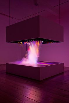"""Interview with curator Lars Bang Larsen, by Sophia Satchell-Baeza In """"Electrical Banana"""", a recent book on psychedelic art by Norman … Interactive Installation, Interactive Art, Interactive Display, Art Installation, Light Art, Pierre Huyghe, Blitz Design, Modern Art, Contemporary Art"""