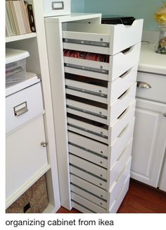 organizing cabinet