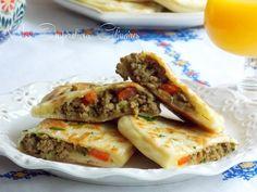 Crêpes turques, Gözleme a la viande hachée