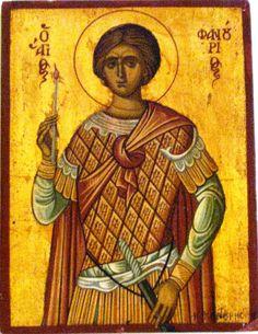 ST.Fanourios Byzantine, Religion, Painting, Art, Art Background, Painting Art, Kunst, Paintings, Performing Arts
