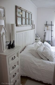 White, white.. Bedroom